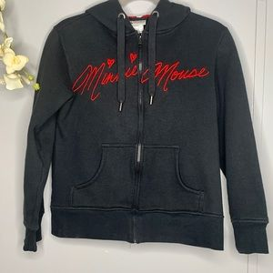 Disney Parks Authentic Minnie Hoodie M